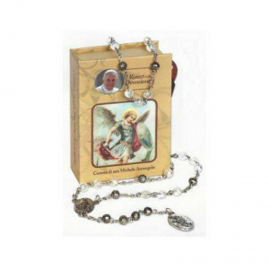 Terço Religioso | Coleção Papa Francisco | Coroa de São Miguel Arcanjo