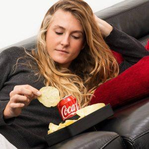 Pack 2  Suportes Sofá para Bebidas e Snacks | Fácil de Usar
