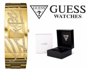 Relógio Guess® Women´s Autograph Gold