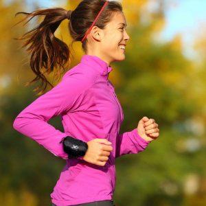 Bolsa de Pulso Desportiva | Prático Acessório Desportivo Para Armazenar Pequenos Itens