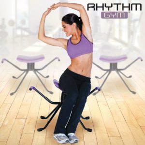 Rhythm Gym | Banco Para Vários Exercícios Muito Leve e Fácil de Passar de Sala em Sala