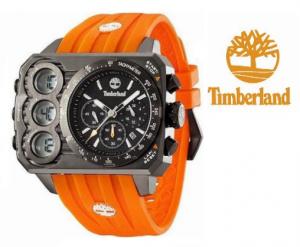 Relógio Timberland® HT3 Chronograph Digital | Analógico | Bracelete Laranja