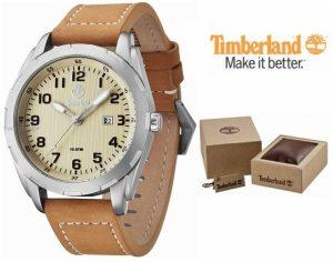 Timberland® Newmarket Bracelete em Couro | Data | 10ATM