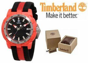 Relógio Timberland® Black & Red | 3ATM