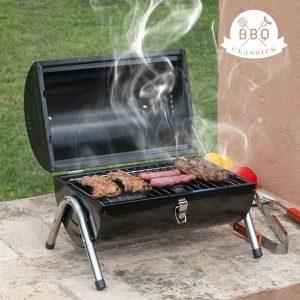 Grelhador a Carvão Cilíndrico BBQ