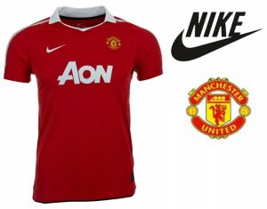 Nike® Camisola Oficial Manchester United Júnior