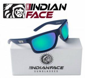 Óculos Adrenaline Style Blue Lentes Verdes | 1 Par de Hastes Extra Cor das Lentes