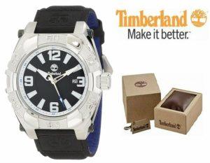 Timberland® Hookset Bracelete Preta | Azul | 10ATM