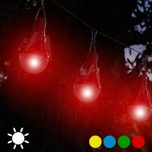 Conjunto 4 Lâmpadas Solares