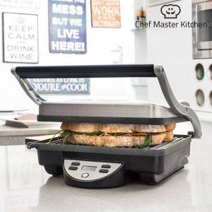 Sanduicheira Grill Chef Master | Superfície Antiaderente