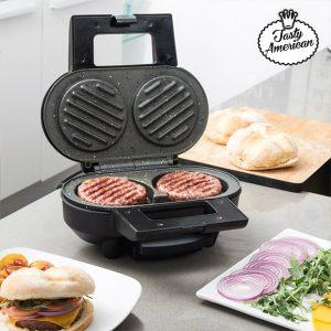 Tasty American | Máquina Para Fazer Hambúrgueres