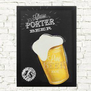 Tela em Linho Cerveja