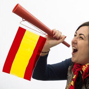 Espanha Vuvuzela com Bandeira