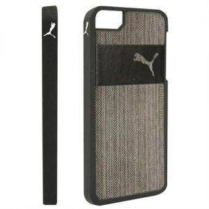 Puma® Capa Preto | Cinza Para Iphone 5 | 5S e Novo SE