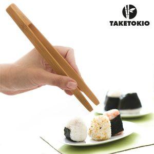 TakeTokio | Conjunto 2 Pinças de Bambu Magnéticas