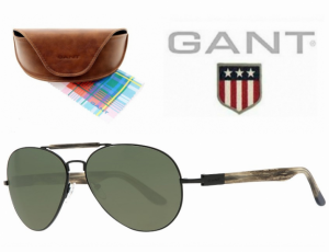 Gant® Óculos de Sol GS 2011 BLK-2