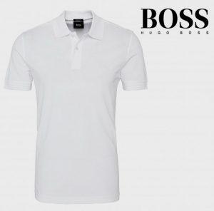 Hugo Boss® Polo Branco | 100% Algodão