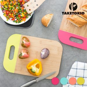 TakeTokio | Mesa de Cozinha em Bambú C/Asa Em Várias Cores