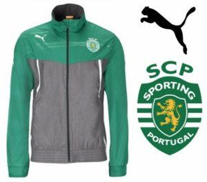 Puma® Casaco Sporting Oficial Junior