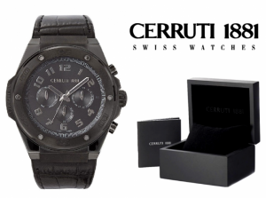 Relógio Cerruti 1881® Roma Sportiva Cronógrafo | 10ATM