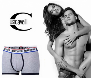 Just Cavalli® Boxers B1100 Cinza | Azul