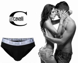 Preço Especial - Just Cavalli® Slip A0900 Preto
