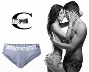 Preço Especial - Just Cavalli® Slip A0900 Cinza