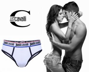 Just Cavalli® Slip B0900 Branco | Azul