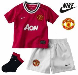 Nike® Conjunto Manchester United Criança