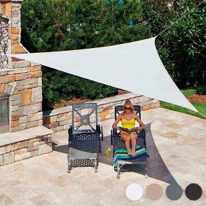 Toldo Vela de Sombra Triangular | 3,6 Metros | Disponível em 4 Cores
