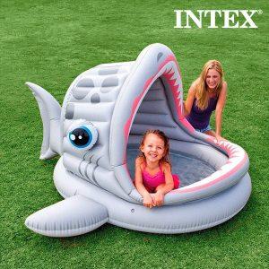 Piscina Insuflável Tubarão | Branco