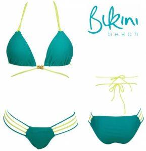 Summer Queen | Biquíni Verde Claro e Escuro