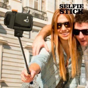 Bastão Para Selfies Bluetooth Extensível Universal