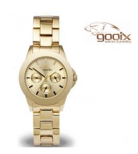 Relógio Gooix® Adissa Classic Dourado | 5ATM