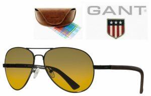 Gant® Óculos de Sol GAS 2008 BLK-101G