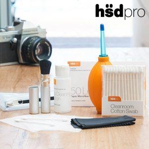 HdsPro Kit de Limpeza Para Câmaras Fotográficas | 7 Peças