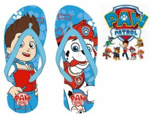 Chinelos Paw Patrol | 23 ao 32 |  Produto Licenciado