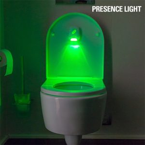 Presence Light | Iluminador de WC Com Luz Led e Sensor de Movimento