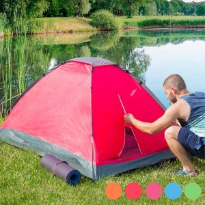 Tenda de Campismo Iglu | Capacidade Para 2 Pessoas | Várias Cores