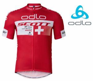 Odlo® Camisola Ciclismo Scott Racing Jersey Bike Team