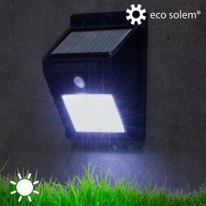 Luz Solar   Sensor De Movimento   Eco Solem