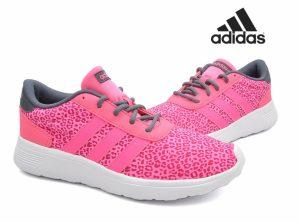 Adidas® Sapatilhas Lite Race W | Rosa Leopardo