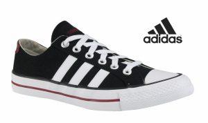Adidas® Sapatilhas Vlneo 3 Stripes Lo | Pretas
