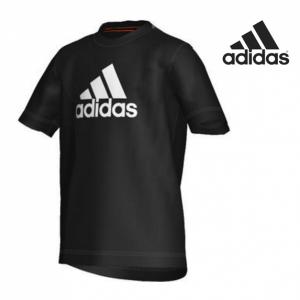 Adidas® T-Shirt Junior Ess Logo Tee | Preta