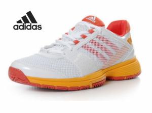 Adidas® Sapatilhas Bercuda 3 W | Branco, Laranja e Vermelho