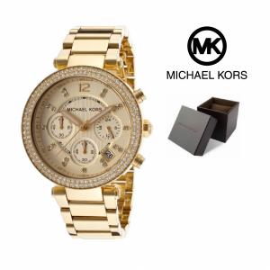 Relógio Michael Kors® Crystal Chronograph Champagne | 5 ATM
