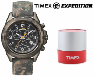 Relógio Timex Expedition® Rugged Tropa | Cronógrafo | 10ATM