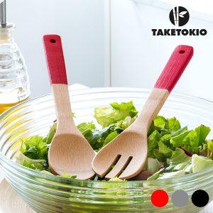 TakeTokio | Garfo e Colher Em Bambu