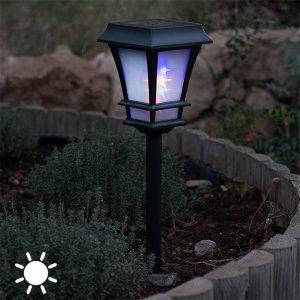 Lanterna Solar | Fotocélula e 4 Leds