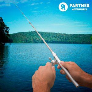 Cana de Pesca Tipo Caneta Partner Adventures